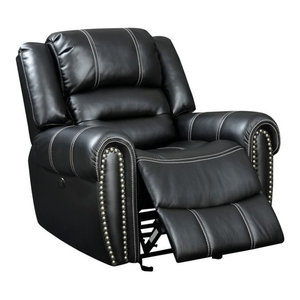 Lancaster Power Recliner Transitional Recliner Chairs