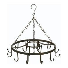 Accent Plus Circular Iron Pot Hanger