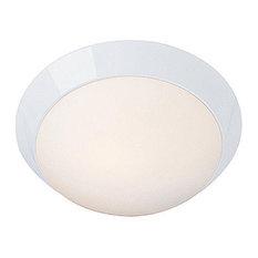 Access Lighting Cobalt Wet Location LED Flush Mount - White