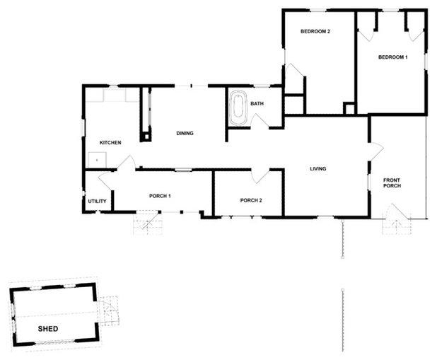 Traditional  by Dandeneau Architecture P.L.L.C.