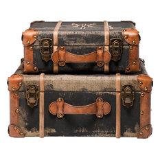 Koffer Deko moderne deko koffer vintage koffer und überseekoffer