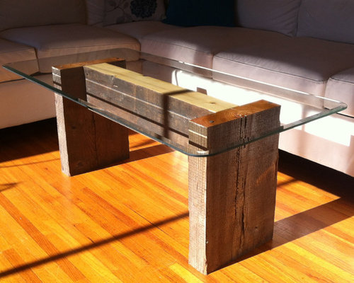 Exceptional Reclaimed Fir U0026 Cyprus Coffee Table   Coffee Tables