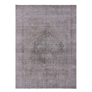 9 X12 Hand Knotted Persian Overdyed Area Rug Q1940