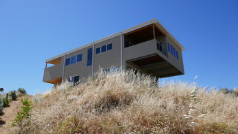 Cantilever Home On Sloping Block