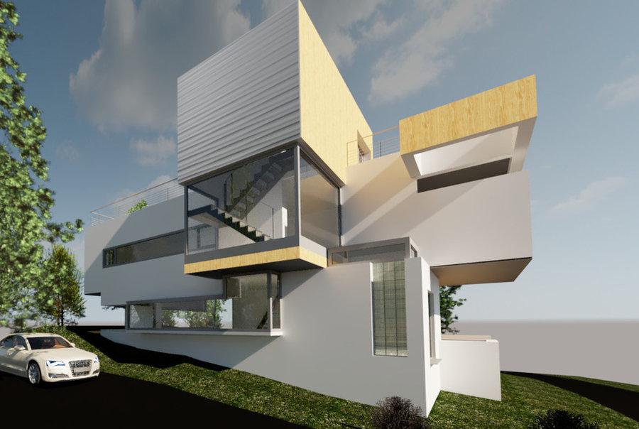 Concept Design-Contemporary House