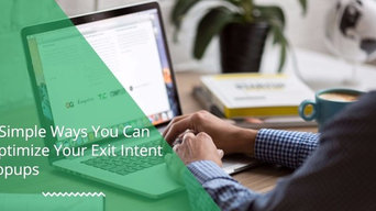 Exit Intent Pop-Up: Convert Visitors Into Leads Exit Intent Service | STEDB
