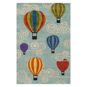 Lil Mo Whimsy LMJ20 Rug, Multicolored, 8'x10'