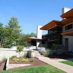 Contemporary Ann Arbor Home Contemporary Exterior