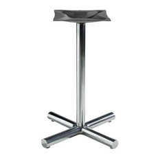 1500 Series 18 in. w 2 in. Column Table Base (Antique Gold)
