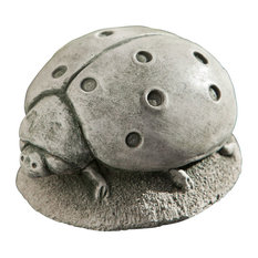 Campania Ladybug, Cast Stone Animal Statue Garden Art