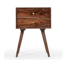 MOD - Draper 2-Drawer Wooden Nightstand - Nightstands and Bedside Tables