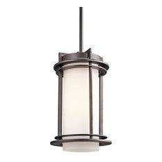 Kichler 49348 1 Light Outdoor Pendant - Architectural Bronze