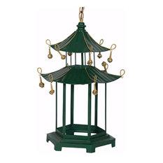 Effortlessly Cultured Green Pagoda