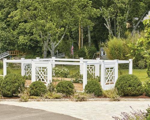 AZEK Vinyl Garden Enclosure   Home Fencing And Gates