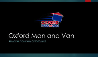 Oxford Man and Van