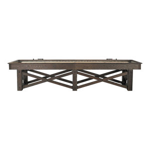 McCormick Shuffleboard Table Rustic Game Table, 12'