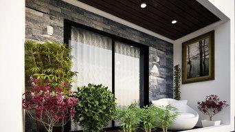 Residential interiors for Mr. Shekar, Chinna Neelangarai. Chennai