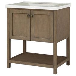 Transitional Bathroom Vanities And Sink Consoles by Sunnywood