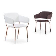 Copper chairs - Stühle mit Kupfergestell