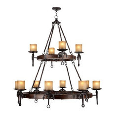 Cape May Chandelier, Olde Bronze
