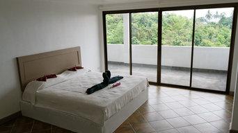 THAÏLANDE: Belle villa avec piscine à débordement et vue panoramique