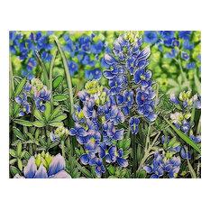 Blue Bonnets Tile