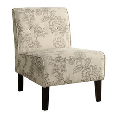 Coco Gray Toile Accent Chair