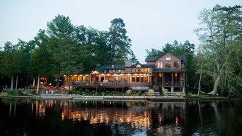 Luxury Lake Front Log Cabin