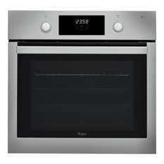 Whirlpool Absolute Built-In Electric Stainless Steel Single Oven, 3200W