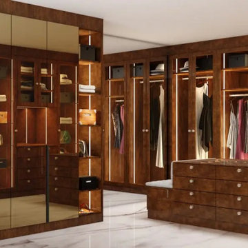 Create Your Bespoke Walk-in Wardrobes the Inspired Way! Inspired Elements