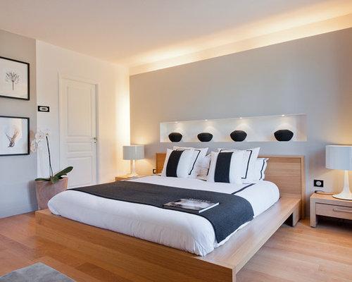 images de d coration et id es d co de maisons lit sculpture niche. Black Bedroom Furniture Sets. Home Design Ideas