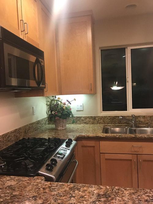 Backsplash Ideas/Blind Ideas for small kitchen?