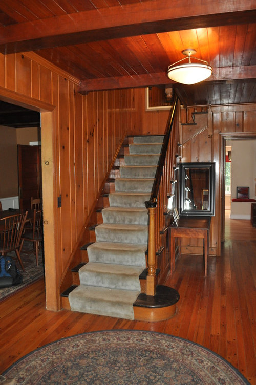 House Wood Paneling: Staging A Home With Real Wood Paneling
