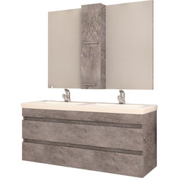 Contemporary Bathroom Vanities And Sink Consoles by AGM Home Store