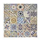 "12.5""x12.5"" Azorin Ceramic Floor and Wall Tile, D��_��__cor, 12.5""x12.5"""