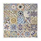 "12.5""x12.5"" Azorin Arenal Decor Ceramic Floor and Wall Tile, Single Tile"