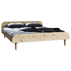 Twist Bed, 140x200 cm, Natural, 160x200 Cm