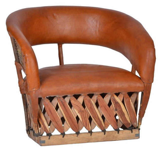 Miamöbel equipales wide armchair rustic armchairs accent chairs by