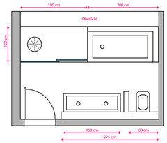 Wohlf hlfamilienbad auf 10 m2 - Oberlicht in wand einbauen ...
