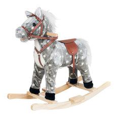 Happy Trails Rocking Haley Horse