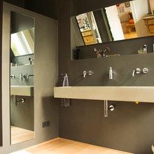 Fugenlose Bäder in wasserfestem Putz - Modern - Badezimmer ...