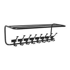 Clifton Wrought Iron Coat Rack