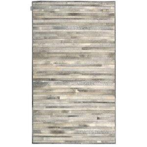 Calvin Klein Prairie Arctic Rug, Silver, 244x305 cm