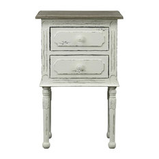 Baxton Studio Anjou Traditional French Accent Nightstand