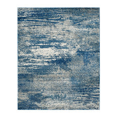 Studio Seven Woven Area Rug, EVK272A, Navy/Ivory,  12' X 18'
