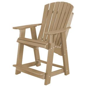 Heritage High Adirondack Chair Contemporary Adirondack
