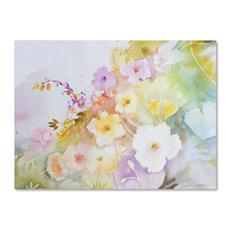 Sheila Golden 'Garden Magic' Canvas Art, 47x35