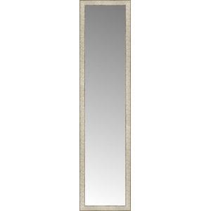 "16""x64"" Custom Framed Mirror, Silver Gold"
