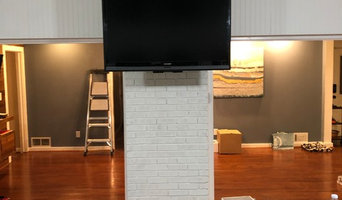 Drop Mount TV Installation