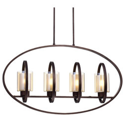 Farmhouse Chandeliers by Edvivi Lighting
